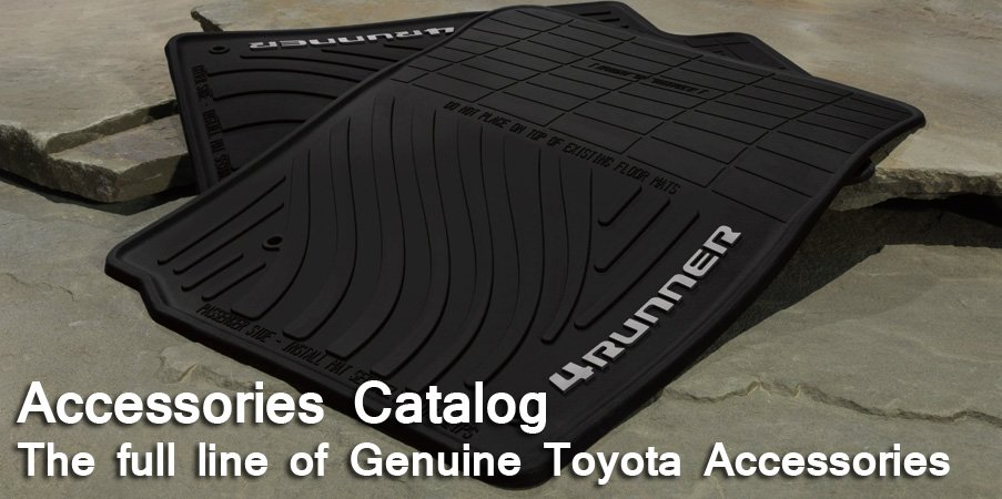 Genuine Toyota Accessories Catalog